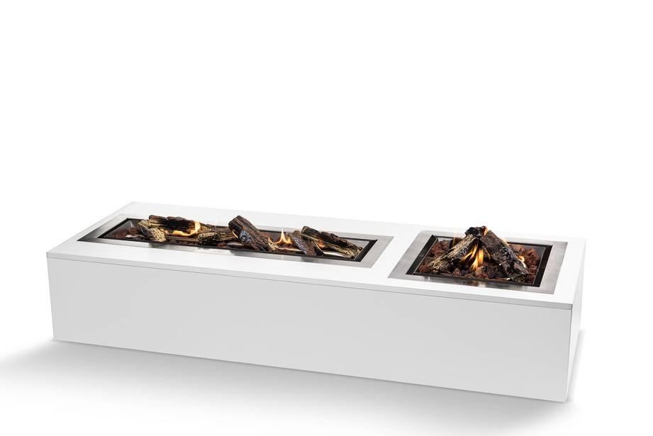 Cocoon Table Inbouwbrander Groot (rechthoek)