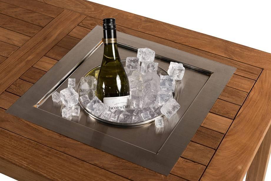 Inbouw Wijnkoeler (vierkant)