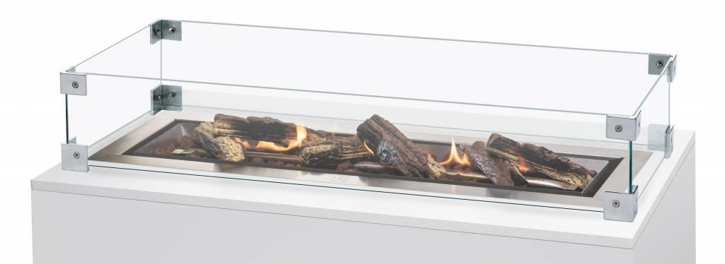 Cocoon Table Glazen Ombouw voor Cocoon Table Rechthoek