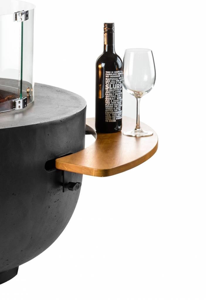 Houten Side Table voor Cocoon Table Cone & Bowl 2 stuks