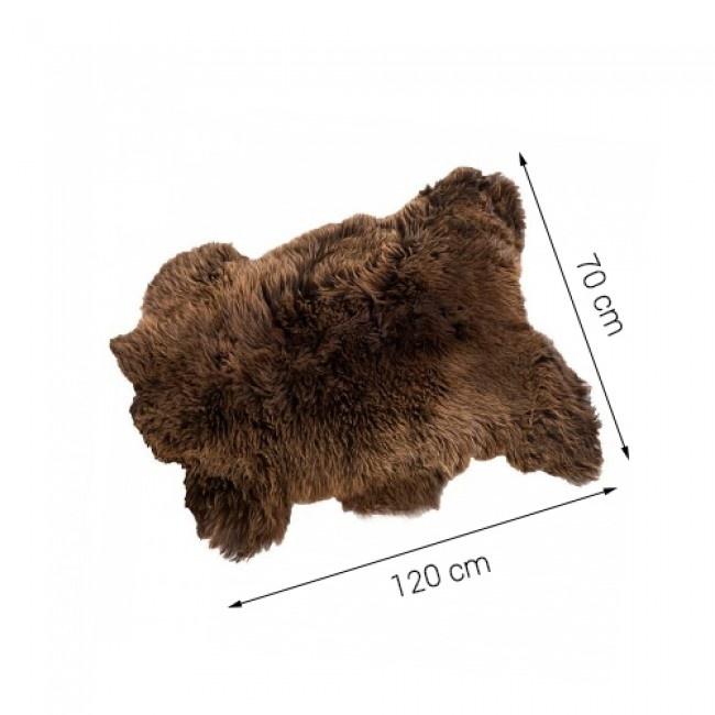 Sheepscoat Brown - Bruine Schapenvacht