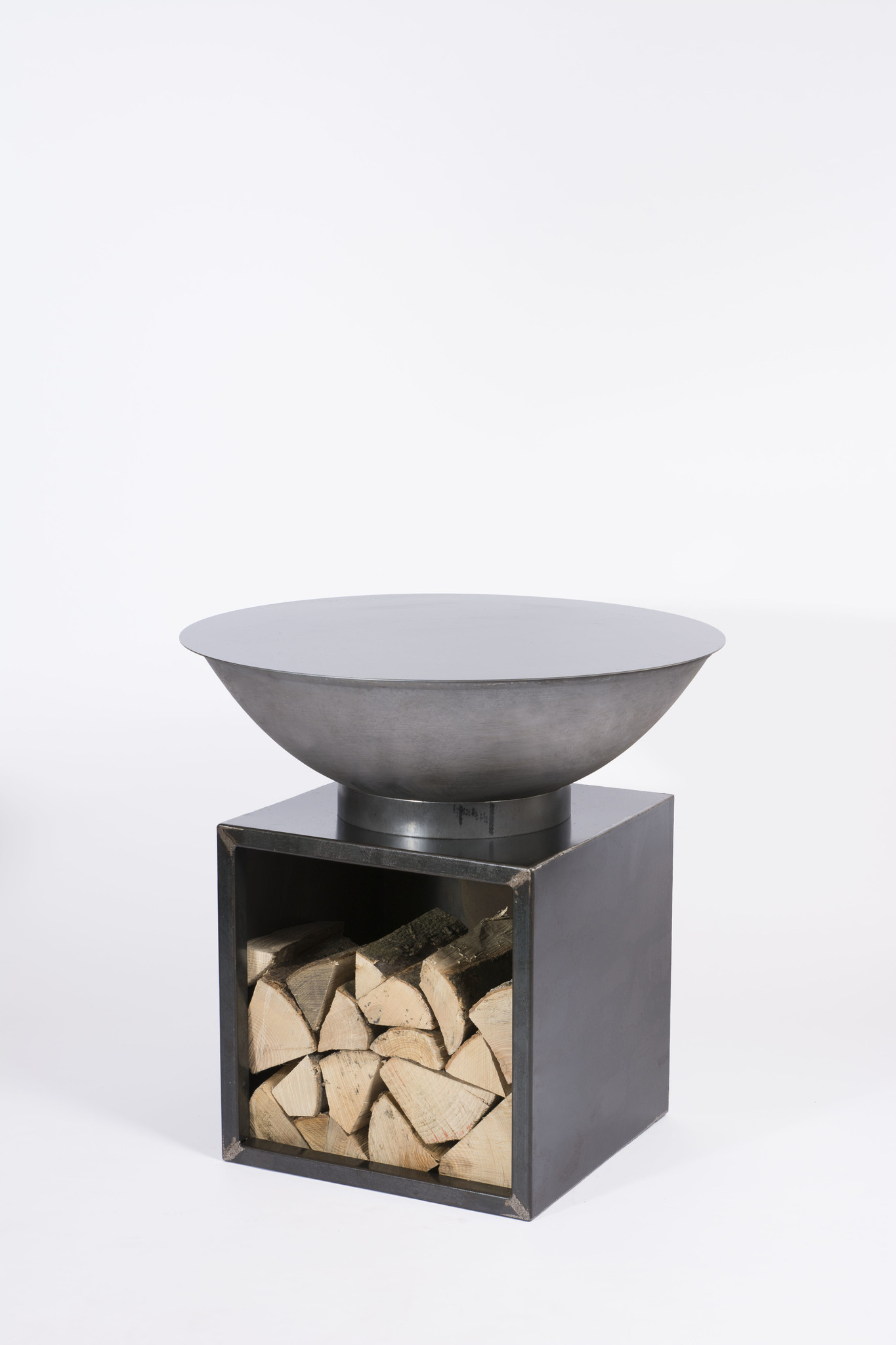 GrillRing Set 75 Cube met houtopslag