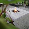 Inbouw Terrashaard 50x50 of 60x60 Gietijzer Deksel Vierkant