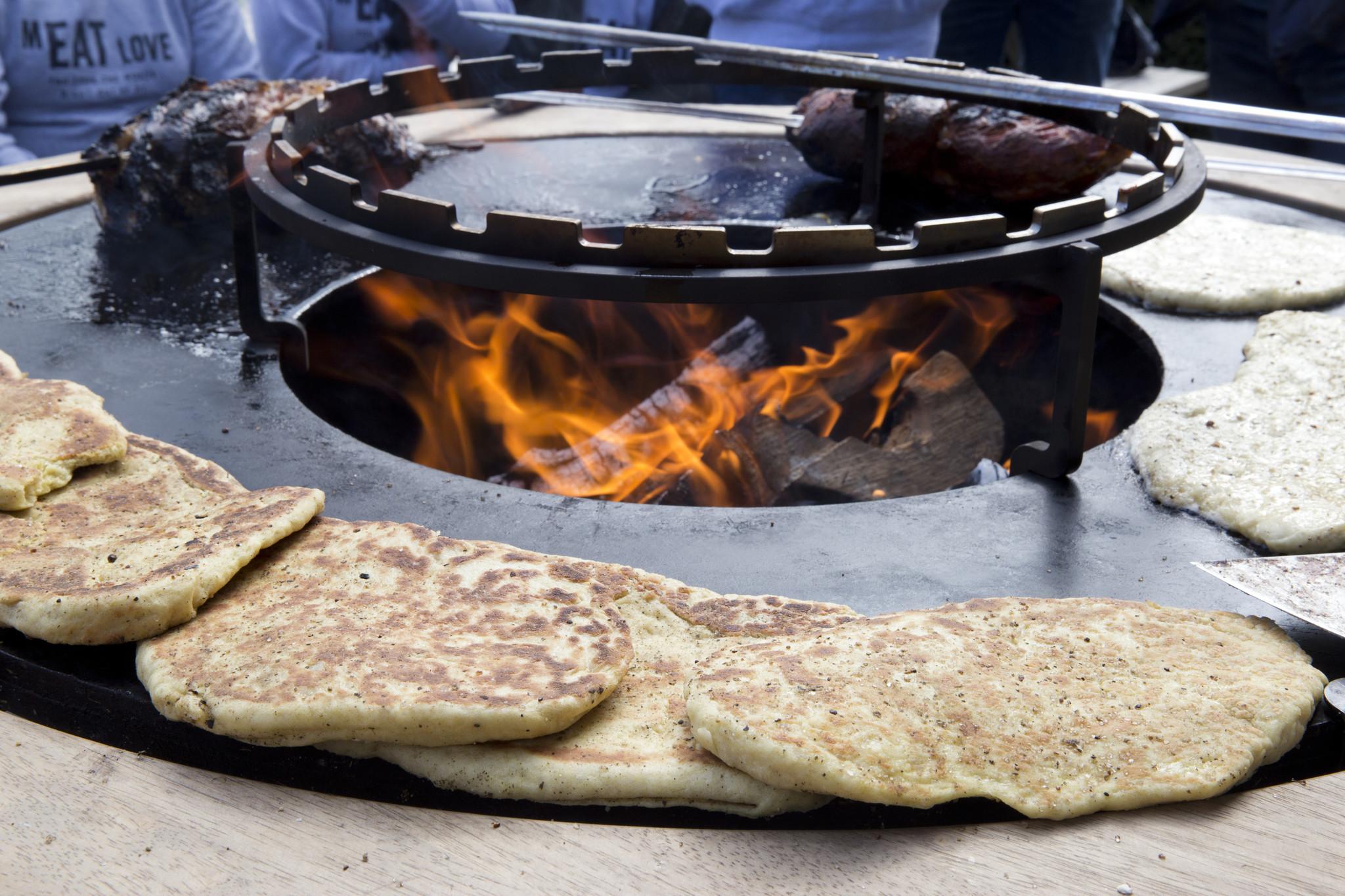 Naanbrood op de OFYR
