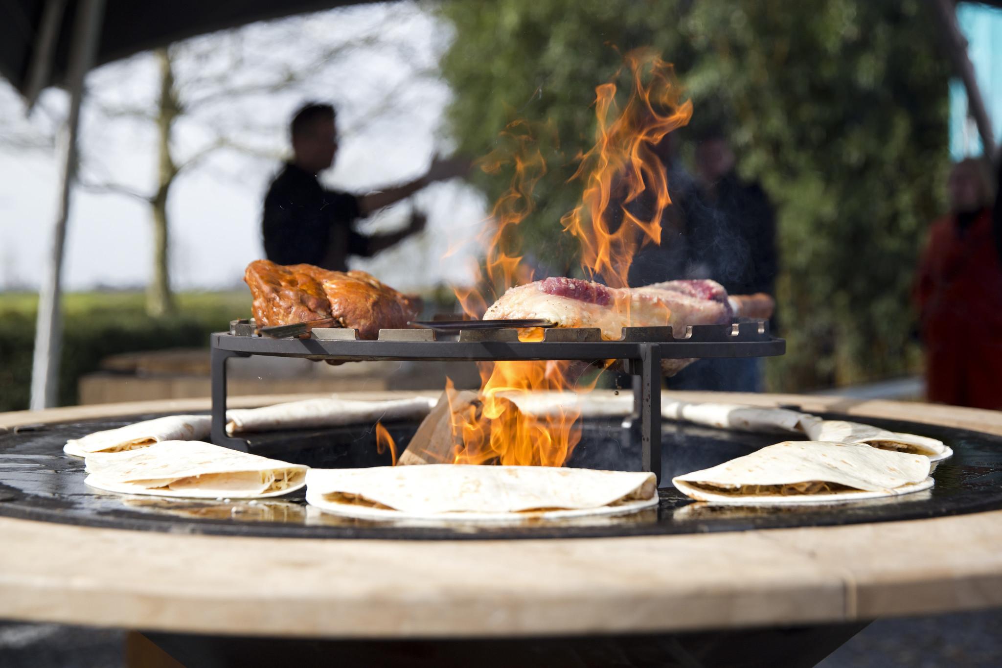 Mexicaanse tortilla's van de barbecue