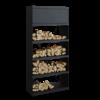 OFYR Wood Storage Black 100