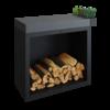 OFYR Butcher Block Storage Black 90 - donkergrijs keramiek
