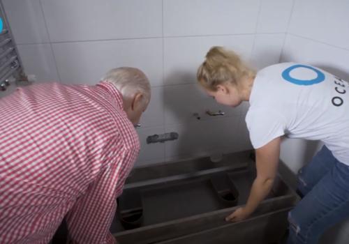 Een Ocean Bathrooms badkamermeubel plaatsen is heel eenvoudig!