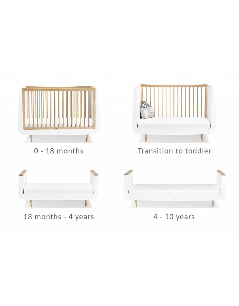 SnuzKot Skandi Style 2 Piece Nursery Set - Natural