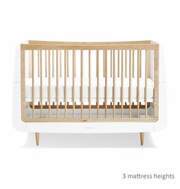 SnuzKot Skandi Style Cot Bed Natural