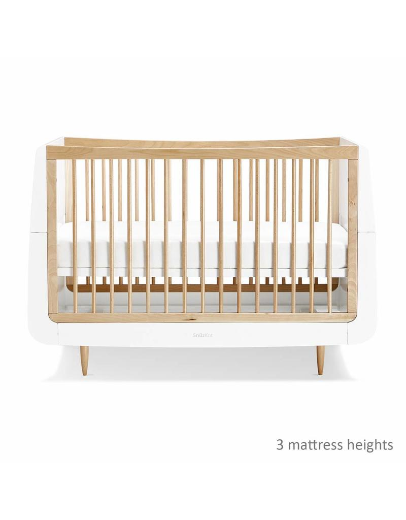 SnuzKot Skandi Style Cot Bed- Natural