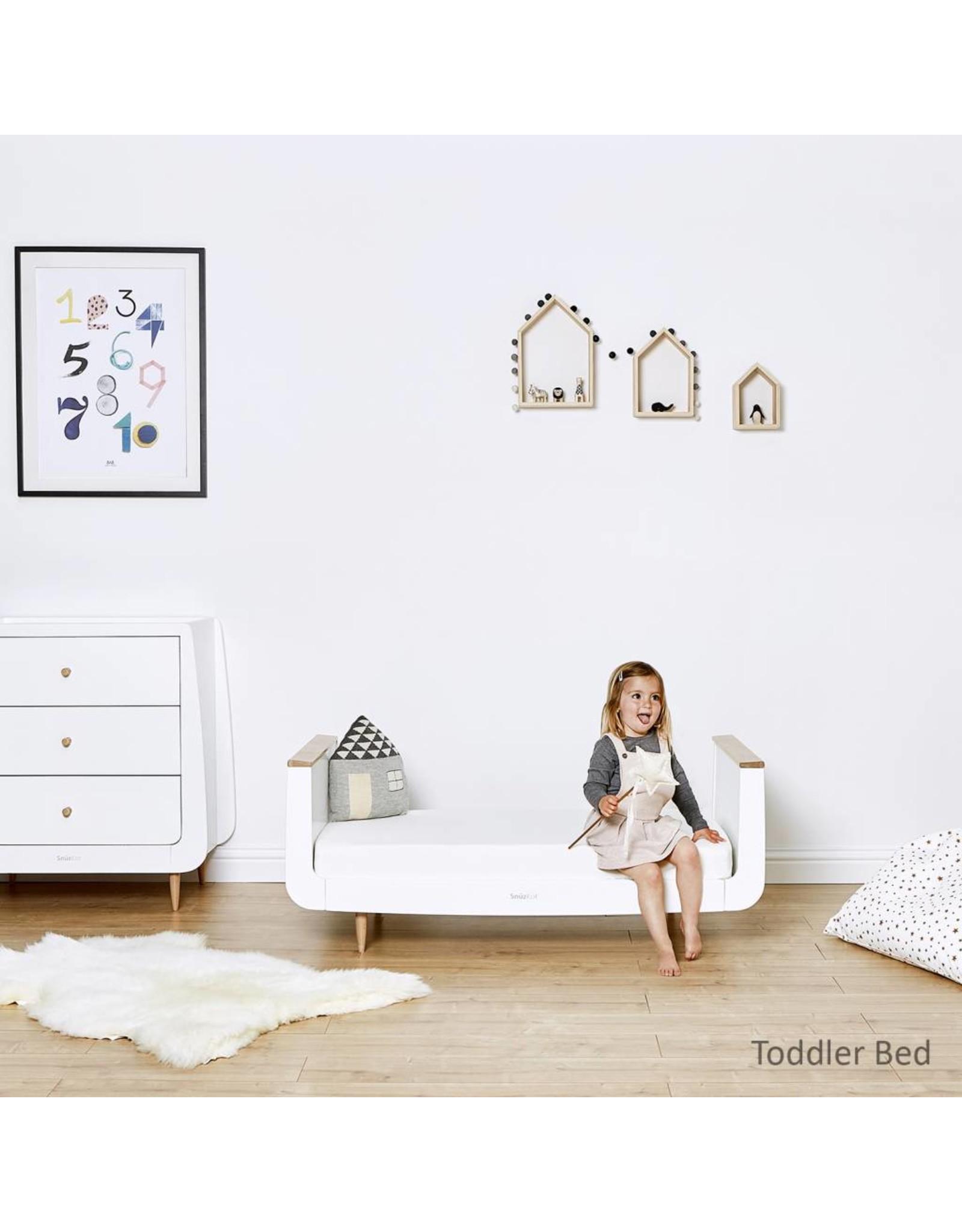 SnuzKot Skandi Style Cot Bed- Natural