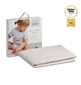 Little Green Sheep Cotbed Mattress Protector - 70x140cm