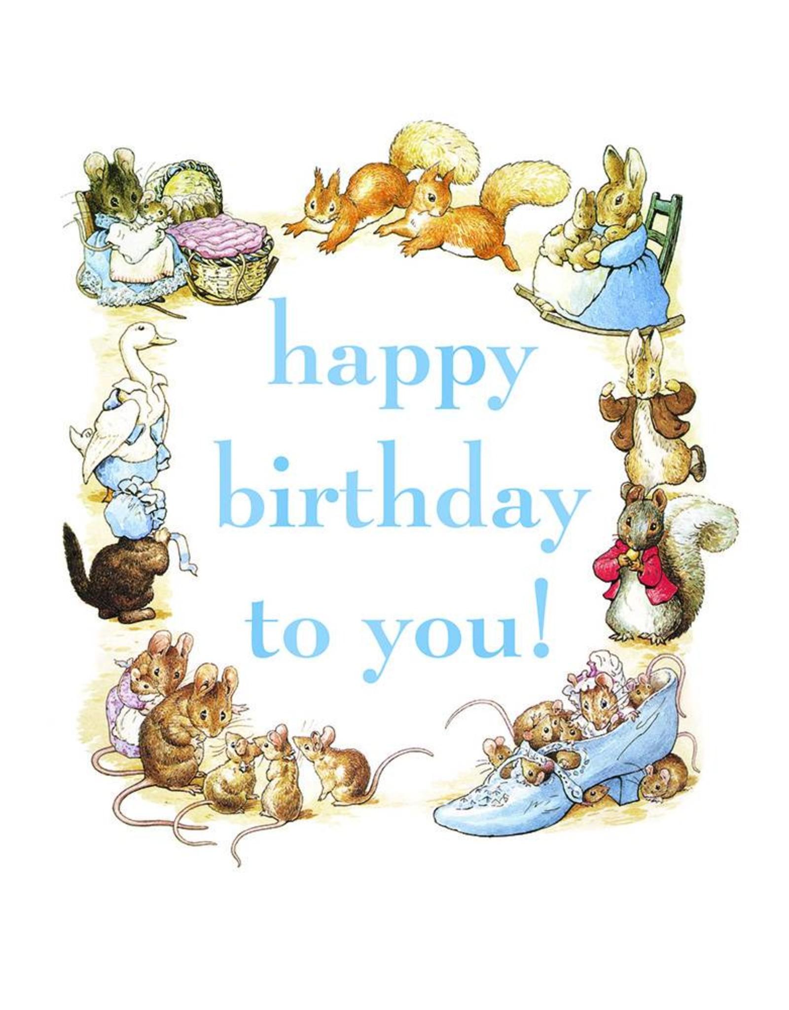 Beatrix Potter Happy Birthday