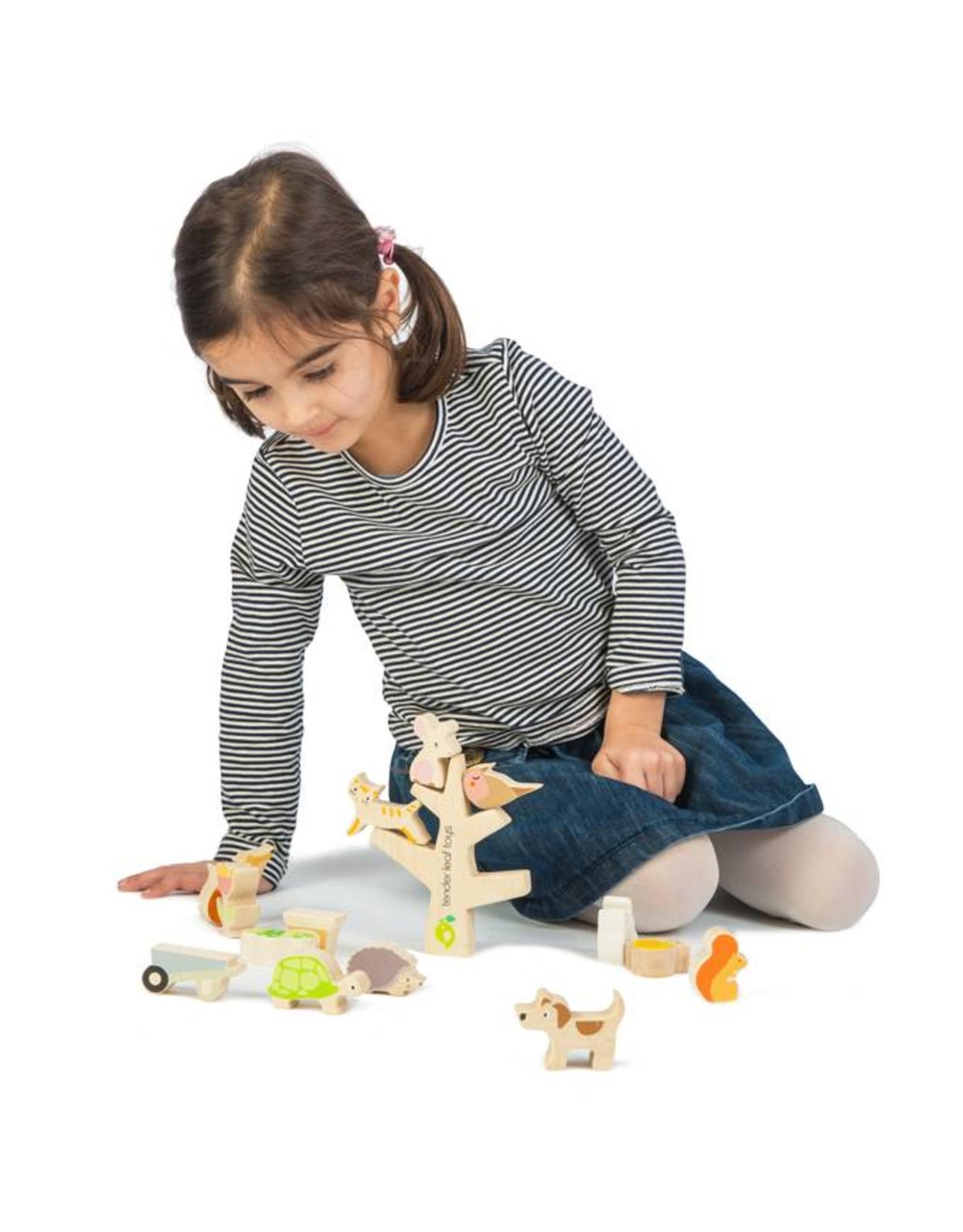 Tender Leaf Toys Stacking Garden Toys