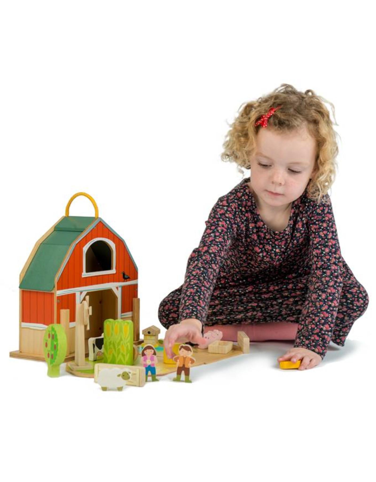 Tender Leaf Toys Little  Barn Set