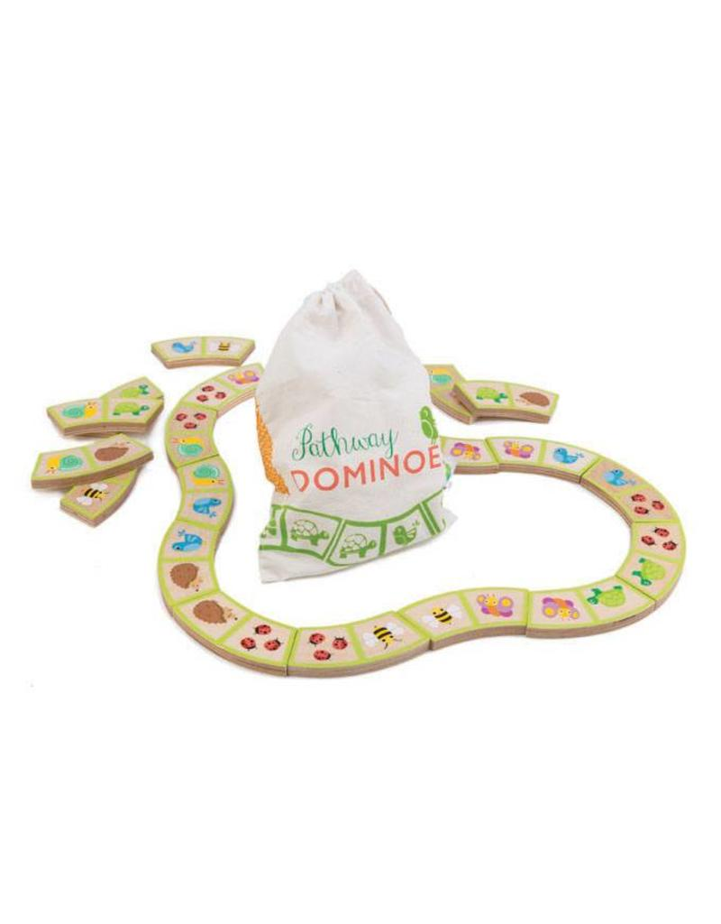 Tender Leaf Toys Garden Path Dominoes