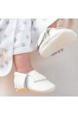 Ruby & Freddies White Baby Mocassin