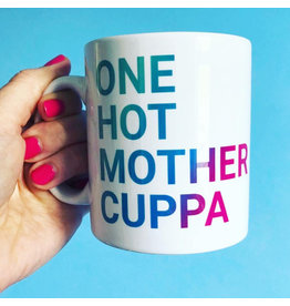 HotTea Mama Gift Mug – One Hot Mother Cuppa