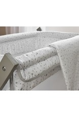 Clair de lune Stars and Stripes Foldable and Breathable Crib