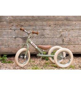 Hippychick Trybike 2-in-1 Steel Vintage- Green