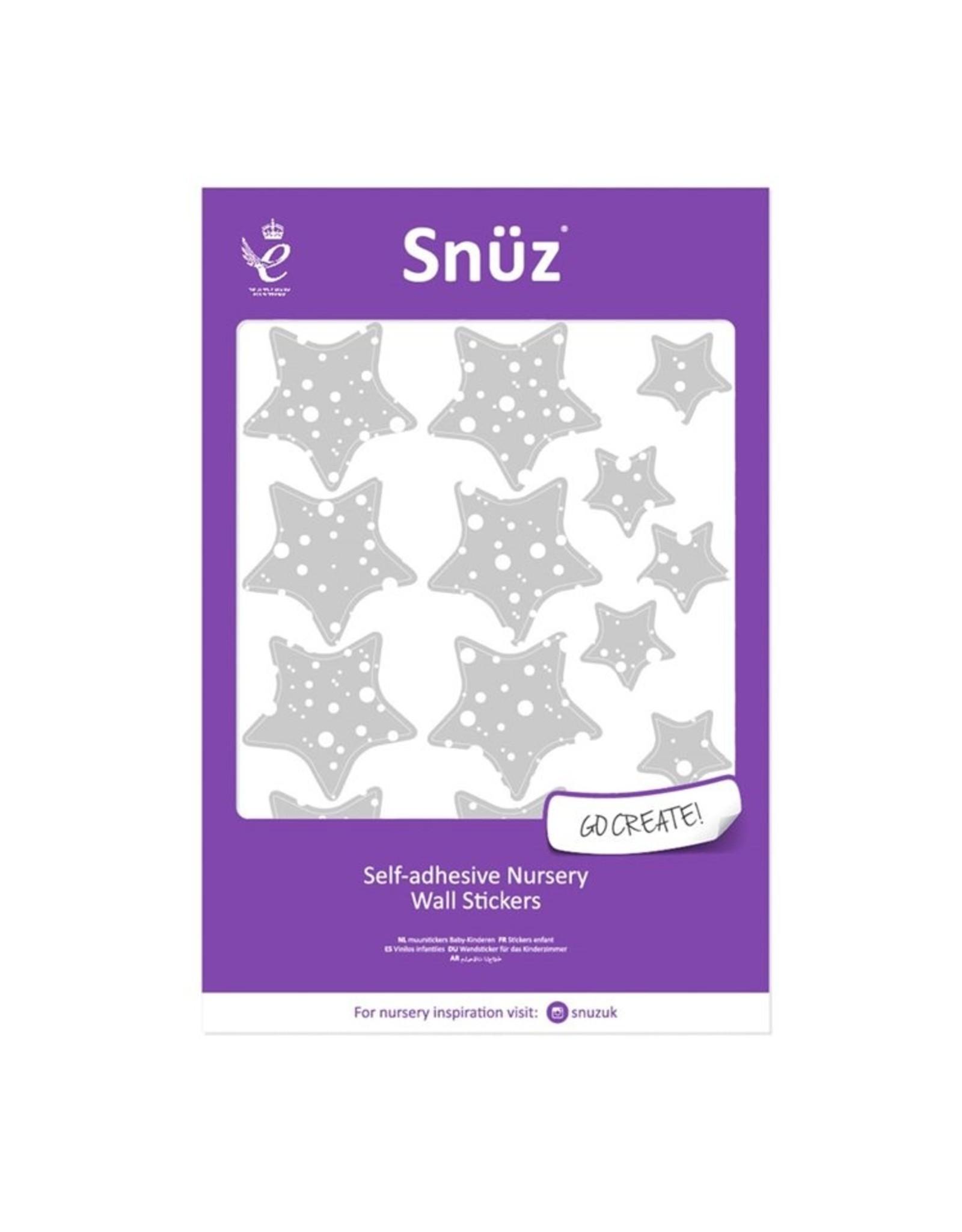 Snuz Nursery Wall Stickers Clouds and Stars - Cloud Nine