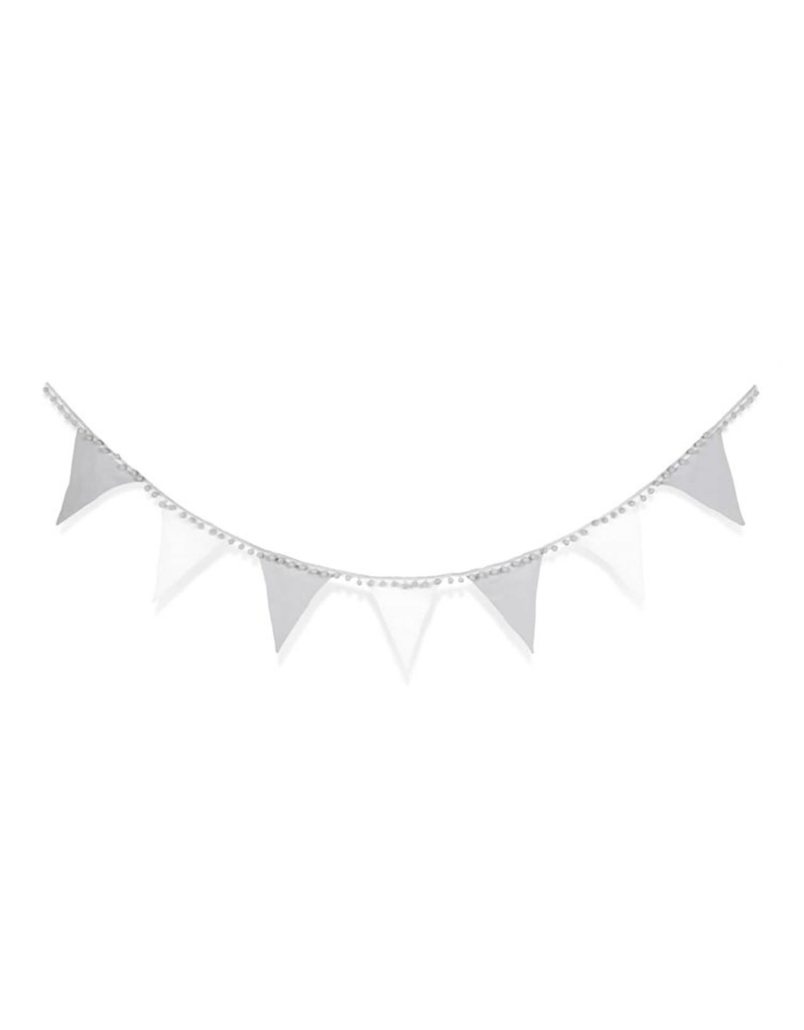 Snuz Snuz Bunting- Grey and White