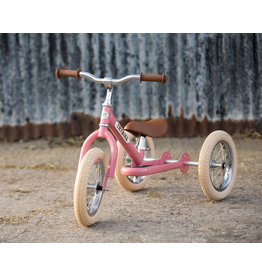 Hippychick Trybike 2-in-1 Steel Vintage- Pink