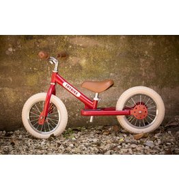 Trybike Trybike 2-in-1 Steel Vintage- Red