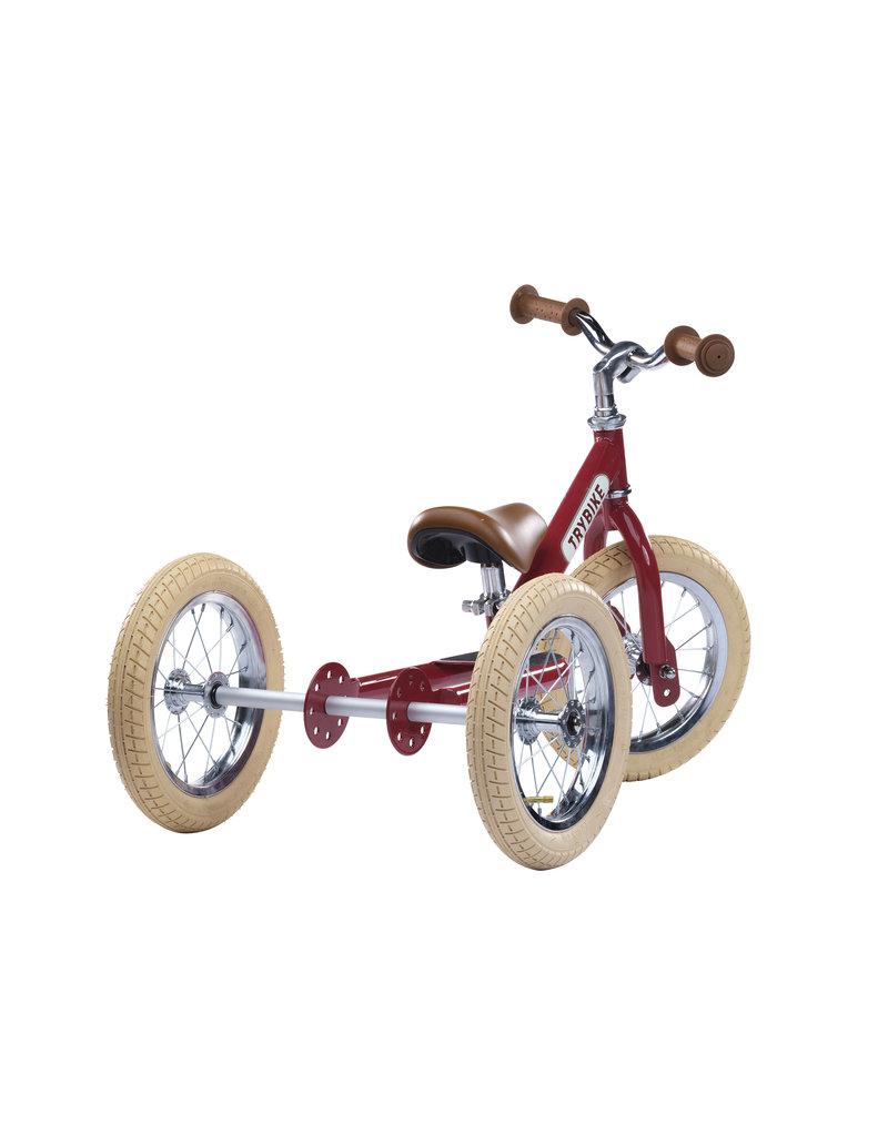 Hippychick Trybike 2-in-1 Steel Vintage-Red