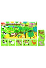 Headu Puzzle 8 + 1 Farm- Ages 2-5 Years