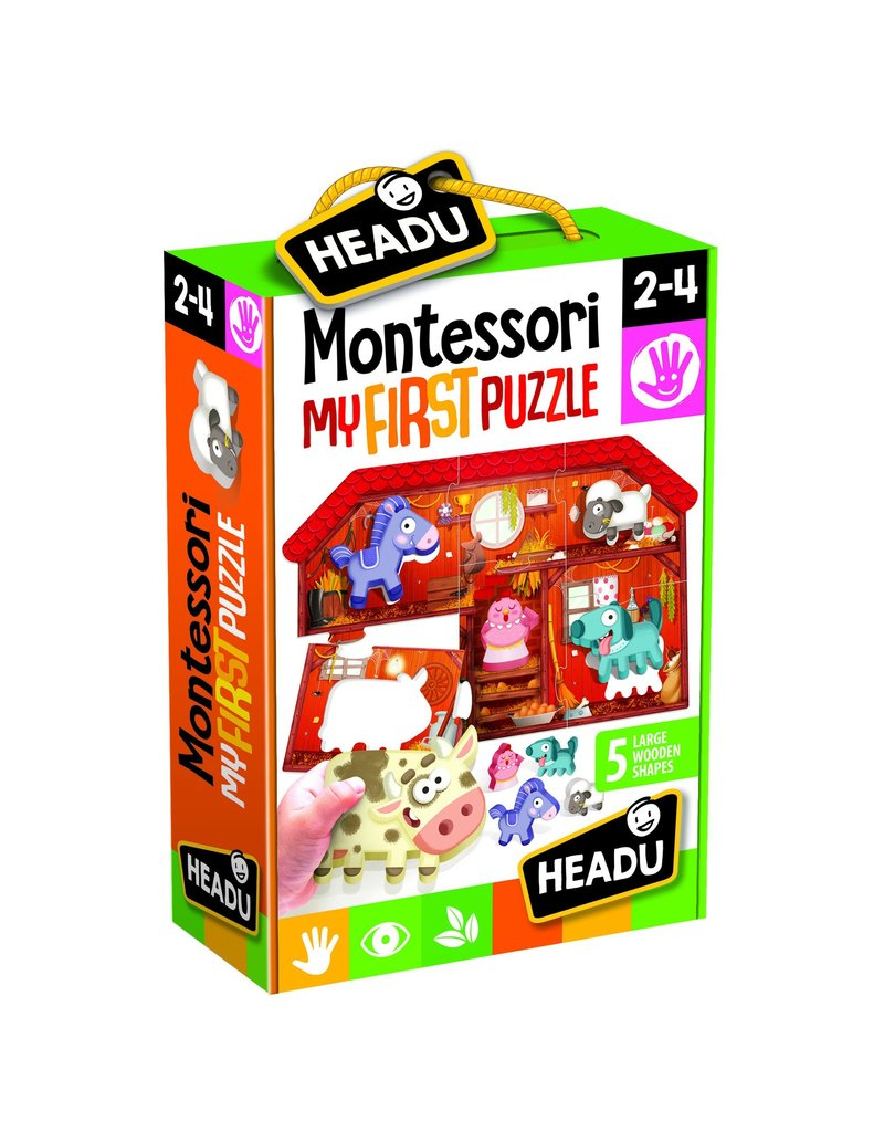 Montessori First Puzzle the Farm