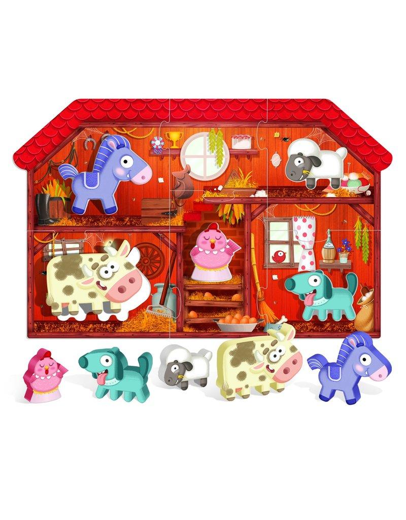 Headu Montessori First Puzzle the Farm
