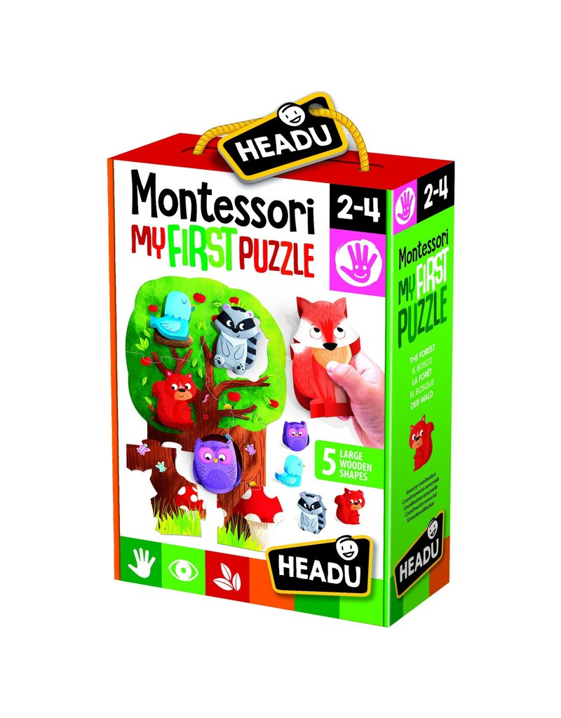 Headu Montessori First Puzzle -The Forest