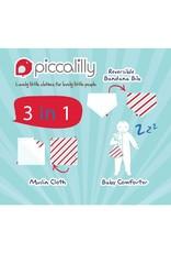 Piccalilly 2-in-1 Muslin Bandana Bib & Burp Cloth - Farmyard