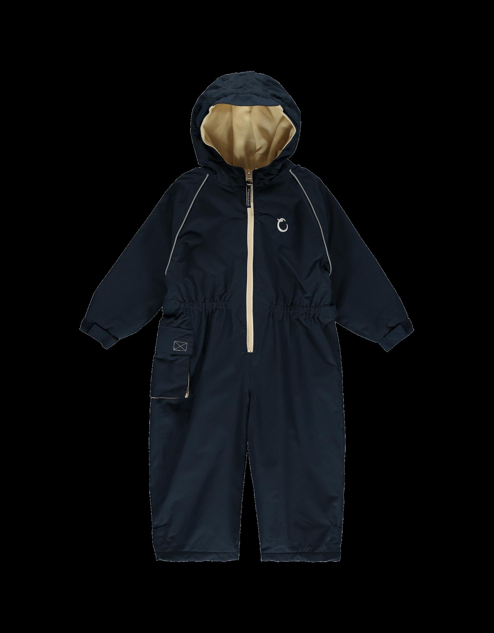 Toddler waterproof Fleece Lined Suit- Midnight Blue