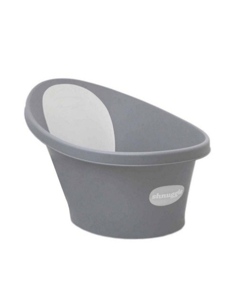 Shnuggle Shnuggle Bath- Grey with White Back