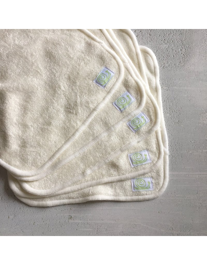 Baba & Boo Reusable Bamboo Wipes - Plain