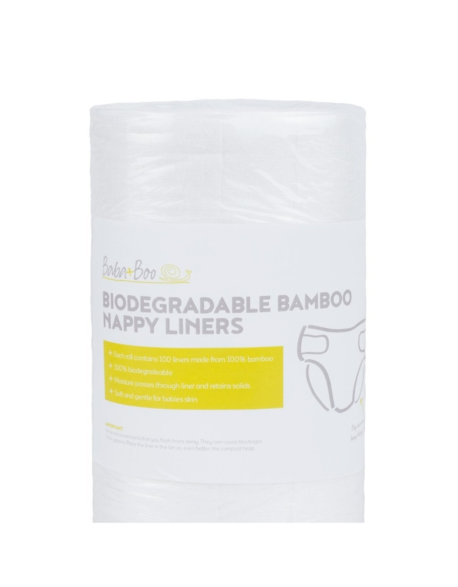 Baba & Boo Biodegradable Nappy Liners
