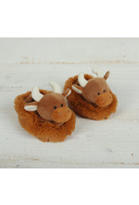 Jomanda Baby Highland Cow Slippers