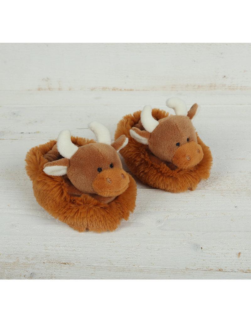 Jomanda Baby Highland Cow Slippers