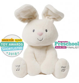 Enesco Flora the Adorable Animated Bunny