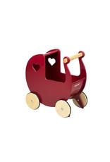 Moover Moover Dolls Pram- Red