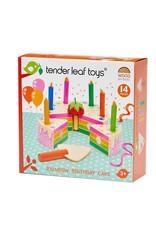 Tender Leaf Toys Rainbow Birthday Cake
