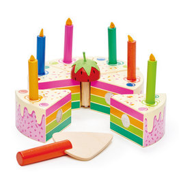 Tender Leaf Toys Rainbow Birthday Cake