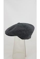 Pesci Pesci Tweed Style Cap- Herringbone