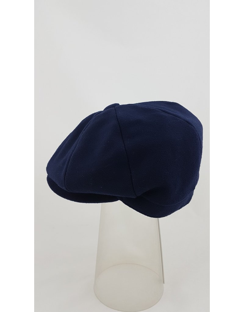 Pesci Pesci Tweed Style Cap- Blue
