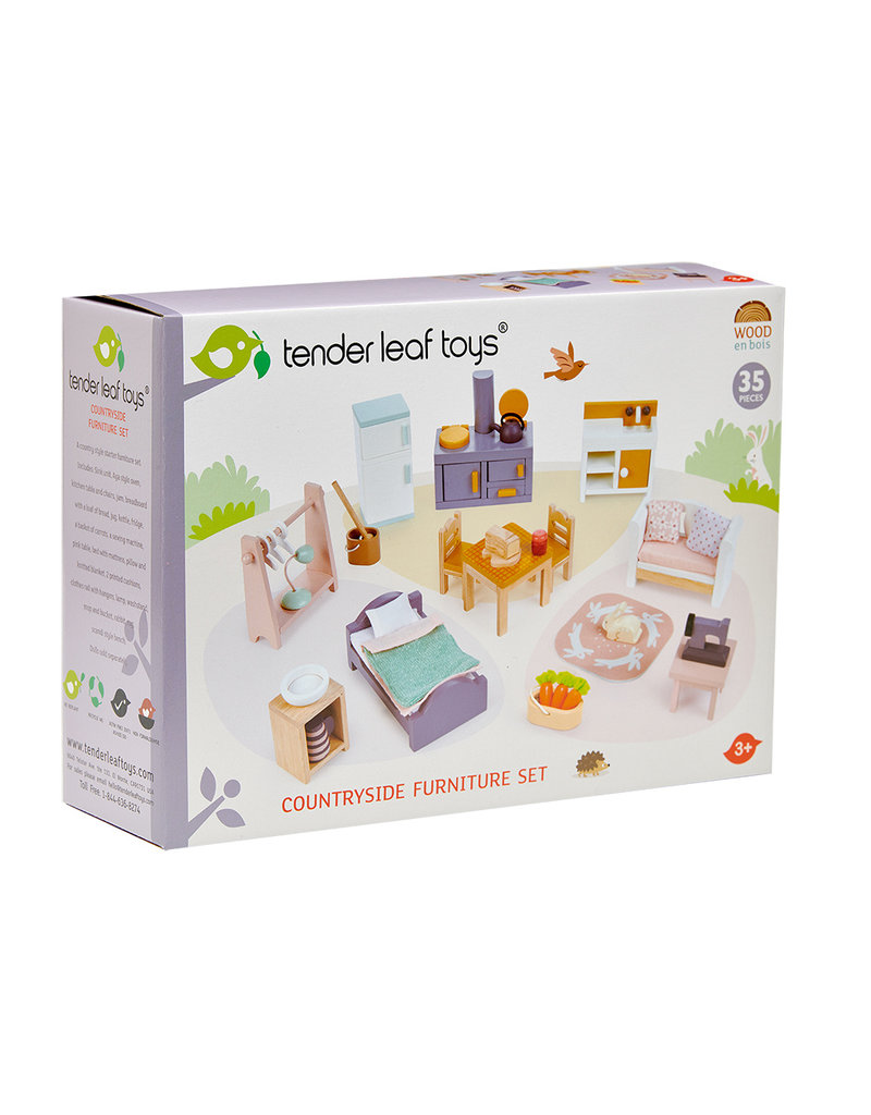 Tender Leaf Toys Cottontail Cottage Starter Furniture Set
