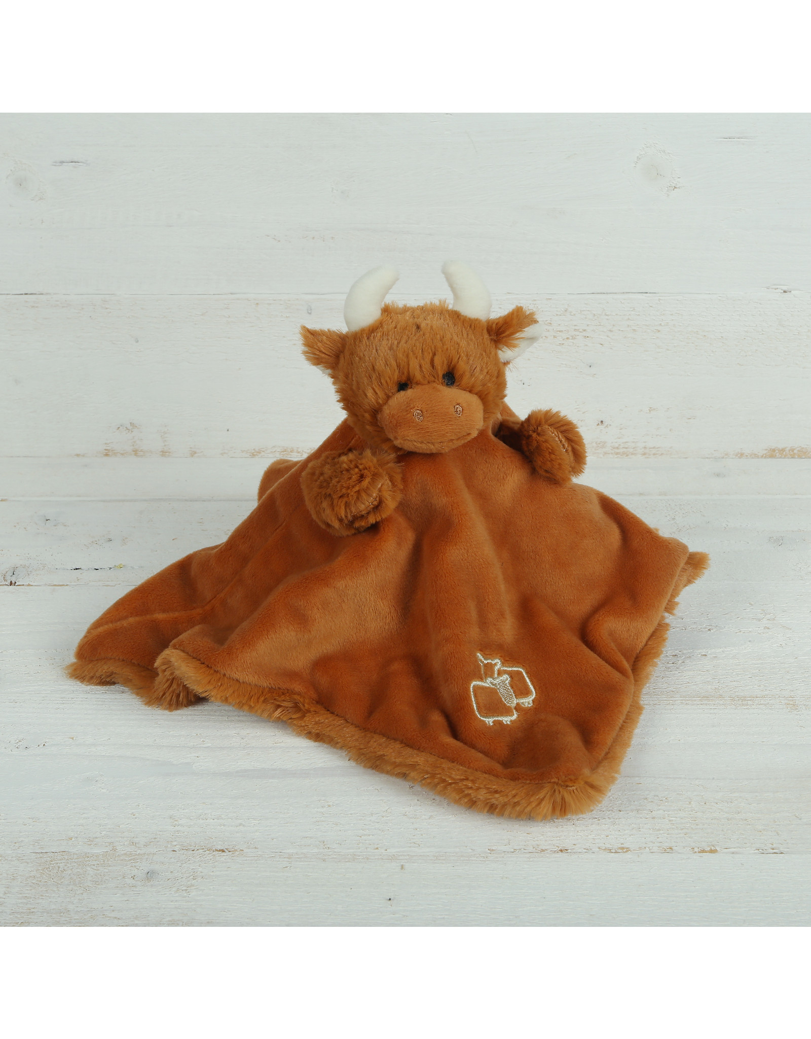 Jomanda Highland Coo Soother/Finger Puppet
