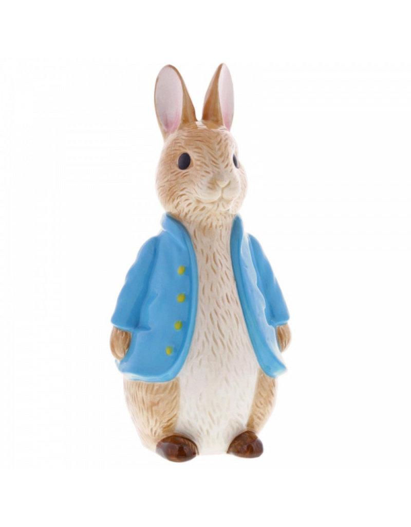 Enesco Peter Rabbit Sculpted Money Bank